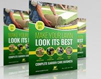 Garden Services Flyer Template Vol.4