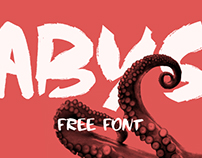 Abys Typeface | free font