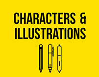 Characters & illustrations