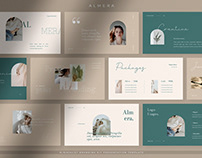 Almera - Elegant Minimalist Brand Kit Presentation