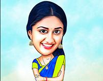 Actress Caricature - 3