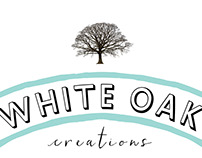 WHITE OAK CREATIONS: logo design