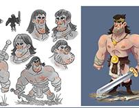 CharacterDesign_Conan the Barbarian