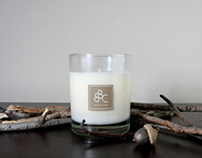 Product Photography: Bear Bottom Candles