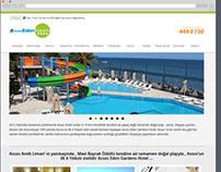 Assos Eden Gardens Hotel Web Design