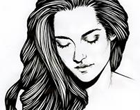 Portrait of Kristen Stewart