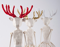 Lady Deer / Decorative art objects