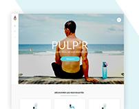 Pulp'r fitness website