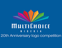 MultiChoice 20th Anniversary logo design competition