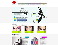 MY MAKE UP - web site