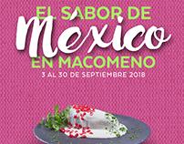 El Sabor de México en MaComeNo (2018)