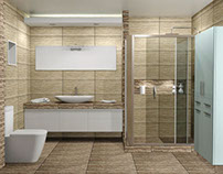 ACROPOLIS, Σύνθεση μπάνιου