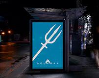 Aquaman (Minimalist Poster)