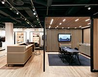 Porsche NOW - Pop-up-Kit Flexibles Retail Design System