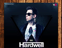 Hardwell Concert Poster (unofficial)