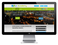E-accadamy website