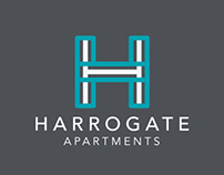 Harrogate Apartments Branding