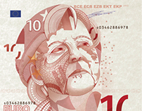 10 Euros woman