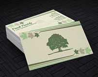 Landscapes & More Stationary/Brochure Redesign