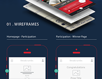 Mobile Campaign Concept | Wireframes | Live Prototype