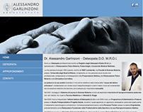Alessandro Garlinzoni Osteopata - Website