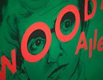 Woody Allen — Poster design