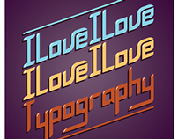 Nangobe Typographic posters