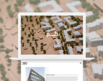 CDF architectural practice - Website