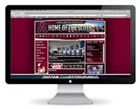 GoAlmaScots.com - A Web Re-Design