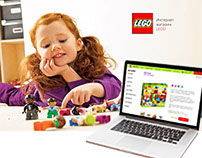 Internet shop of LEGO toys
