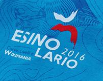 Wikimania 2016 Esino Lario - Visual Identity