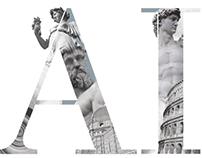 Brochures for Accademia Italiana