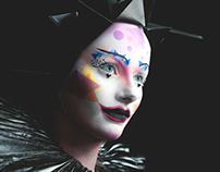 Futuristic Harlequin