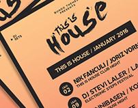 This is House Flyer | PSD Template