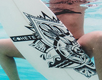 Cohete Surfboard - Effie Vrakas