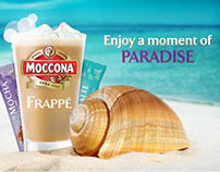Moccona Frappe Campaign