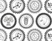 Sarah Rebecca pattern illustration