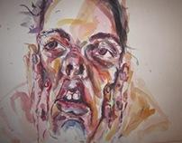 Watercolors - faces 2011.