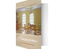 [Free Template] Warm Home Real Estate Folder