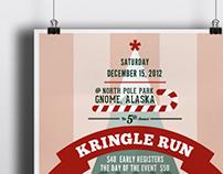 Kringle Run Poster