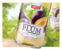 Label design for series of SORELLE wine.