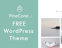 Pine-Cone Free WordPress Theme