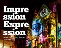 Imex // Impression Expression - Concept.