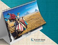 KANDIL STEEL 2 0 1 8 CALENDAR