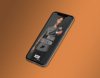 Nike App Design