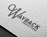 Wayback Productions Branding