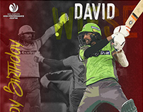 Birthday Post | Lahore Qalandars Players