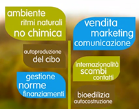 S.A.N. Scuola Agricoltura Naturale - Adv project