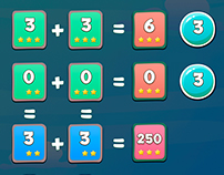 Math Game UI Design