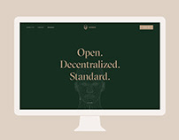 Nomios Wallet — Landing page & web app